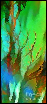 Natures Beauty Abstract Print by John Malone