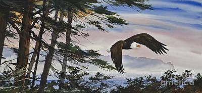 Natures Grandeur Original by James Williamson
