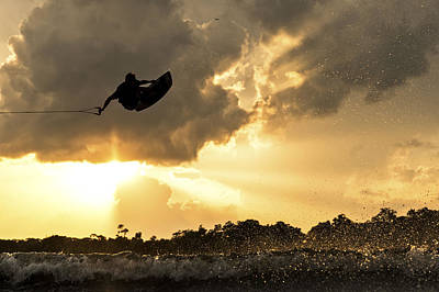 Wakeboarding Photograph - Natures Light by Tyler Soden