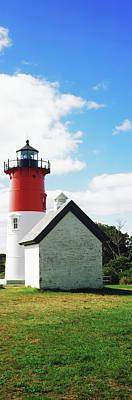 Nauset Beach Photograph - Nauset Lighthouse, Nauset Beach by Panoramic Images