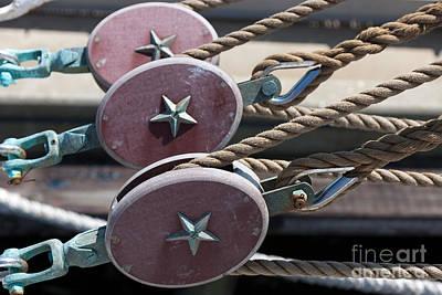 United States Coast Guard Photograph - Nautical Blocks I by Clarence Holmes