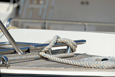 Ropes Photograph - Nautical Knots by George Atsametakis