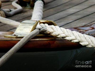 St.tropez Photograph - Nautical Textures by Lainie Wrightson
