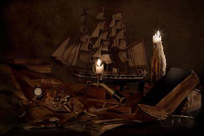 Nautically Inspired Print by Mary Tomaino