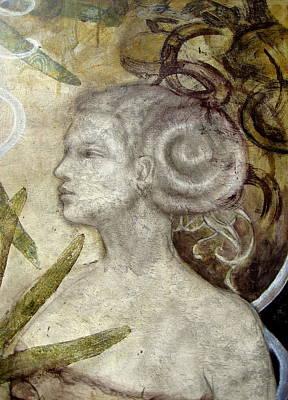 Hairdo Mixed Media - Nautilus Detail by Claire Mack