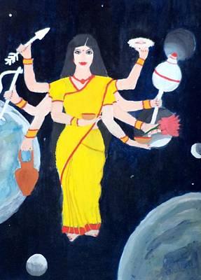 Nava Durga Kusmaanda Print by Pratyasha Nithin