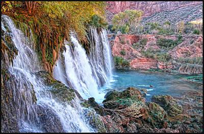 Navajo Falls Print by Stellina Giannitsi