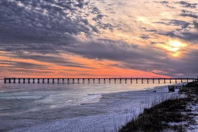 Navarre Beach Photograph - Navarre Beach Moods by JC Findley