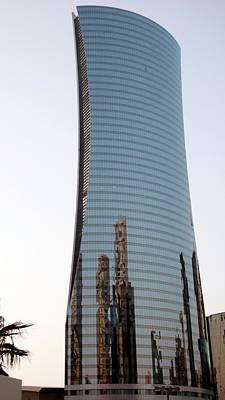 Qatar Photograph - Navigation Tower by Bob Edwards