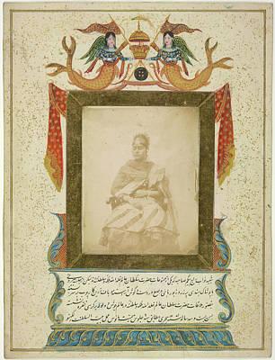 Khan Photograph - Nawaub Raj Begum Sahibah Of Oudh by British Library