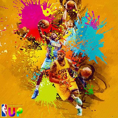 Nba Season Poster - Part 7 Original by Don Kuing