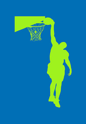 Nba Shadow Players Print by Joe Hamilton