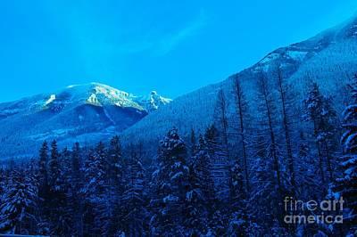 Near Fernie British Columbia  Print by Jeff  Swan
