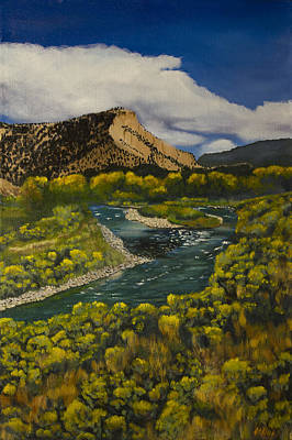 Grande Painting - Near Pilar by Jack Atkins