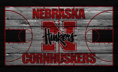Nebraska Cornhuskers Print by Joe Hamilton