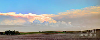 Majestic View Mixed Media - Nebraska Landscape by Terrie Galvin