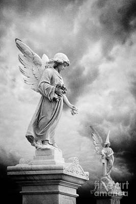Gravestone Photograph - Necropolis 12 by Colin and Linda McKie