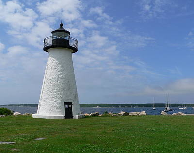 Lighthouses Photograph - Neds Point Lighthouse by Janice Drew