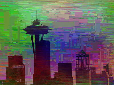 Tourist Attraction Digital Art - Needle Cubed 2 by Tim Allen