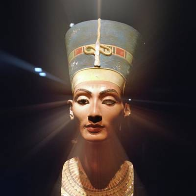 Proportions Photograph - Nefertiti by Detlev Van Ravenswaay