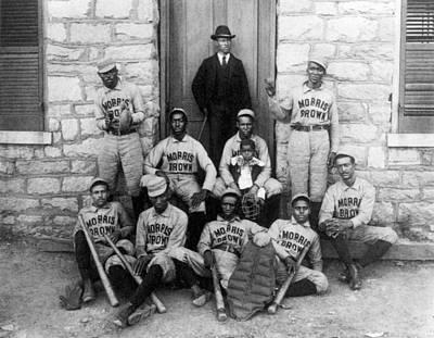 Negro Baseball Print by Granger
