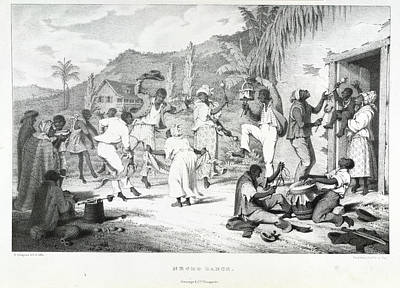 Negro Dance Print by British Library