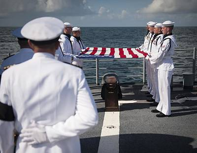September 11 2012 Photograph - Neil Armstrong's Burial At Sea, 2012 by Science Photo Library