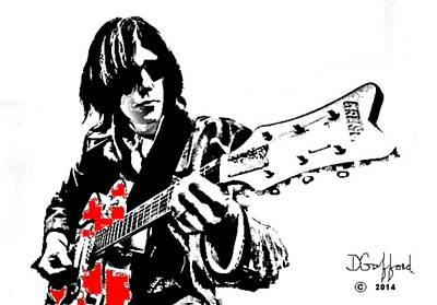 Neil Young Print by Dave Gafford