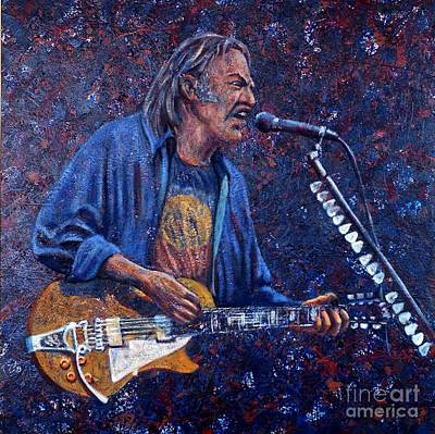 Neil Young Print by John Cruse Knotts