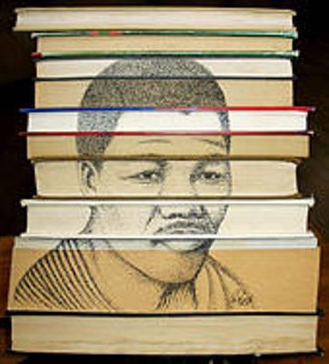 Nelson Mandela # 6 Original by Gideon Schutte