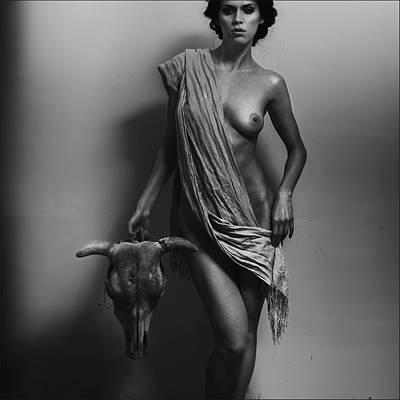 Goddess Mythology Photograph - Nemesis by Alexander Pereverzov
