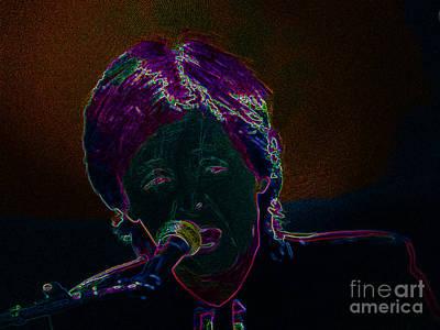 Neon Sir Paul Print by Tina M Wenger