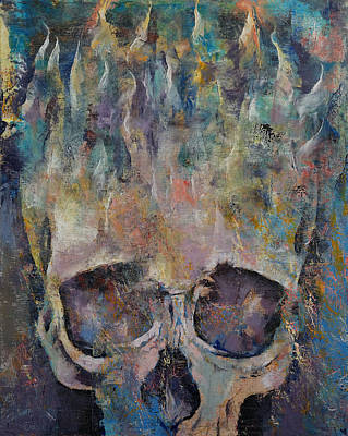 Neptune Print by Michael Creese
