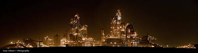 Contradiction Photograph - Nesher Cement Plant by Isaac Silman