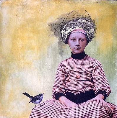 Mixed Media - Nesting I by Susan McCarrell