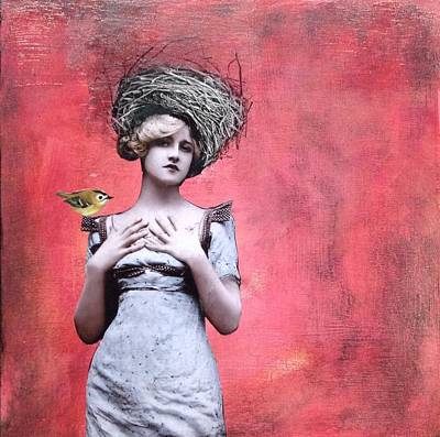 Mixed Media - Nesting IIi by Susan McCarrell