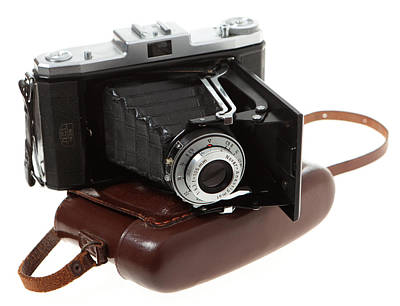 Ikon Photograph - Nettar 518 Folding Camera by Paul Cowan