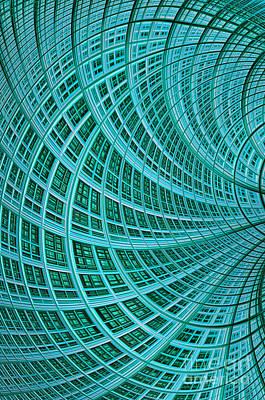 Network Print by John Edwards