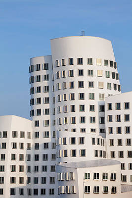 Neuer Zollhof Buildings Designed Print by Panoramic Images