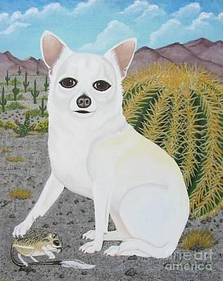 Painting - Neutron In The Desert by Lori Ziemba