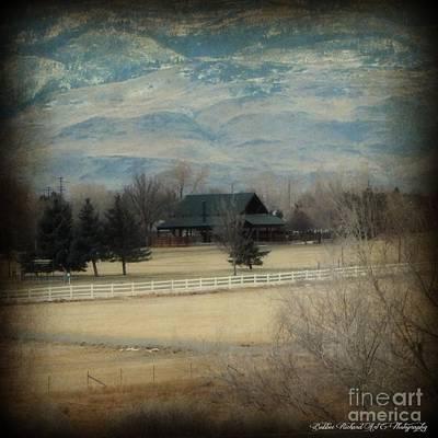High Sierra Digital Art - Nevada Style  by Bobbee Rickard