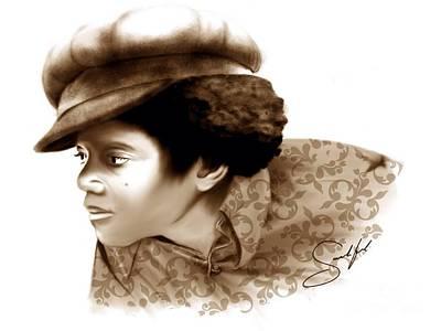 Jackson 5 Digital Art - Never Can Say Goodbye by Rod Sandiford
