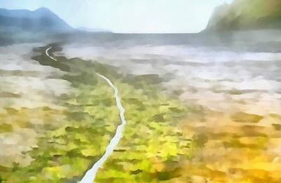 Ending Life Painting - Never Ending Journey by Dan Sproul