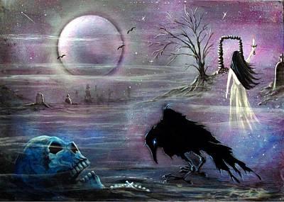Nevermore Evermore  Print by Christine Cholowsky