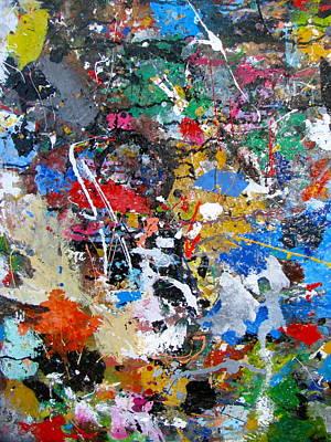 New Abstract Print by Melinda Saminski