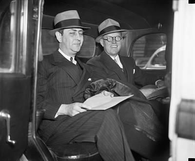 Ambassador Photograph - New Ambassador Joseph Kennedy by Underwood Archives