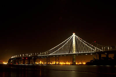 Photograph - New Bay Bridge by Bill Gallagher