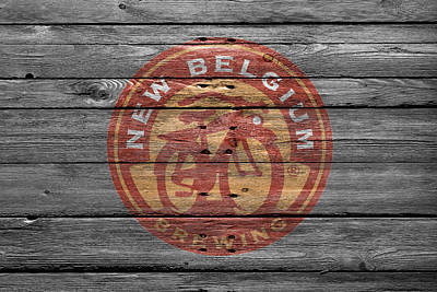 Handcrafted Photograph - New Belgium Brewery by Joe Hamilton