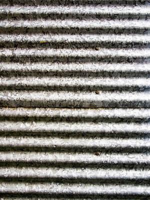 Unique Photograph - New Corrugated Iron by Hakon Soreide