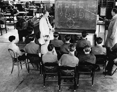 Mcentee Photograph - New Deal: C.c.c. Class by Granger